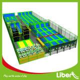Sosta dell'interno relativa alla ginnastica commerciale del trampolino da vendere negli S.U.A.