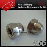 Écrou borgne d'acier inoxydable d'A2 A4 DIN1587