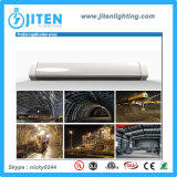 High Lumens LED Tri-Proof Light para túneis, metrô, mineração