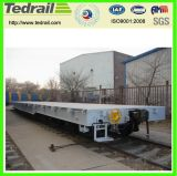 重負荷の鉄道の無蓋貨車