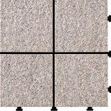 Tegel Decking van de Steen van de Aard van het graniet de Openlucht met PE Basis voor Tuin 30*30cm