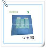 Голубая & зеленая & белая бумага Crepe цвета