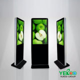 Fußboden-Standplatz-DigitalSignage LCD-Totem-Screen-Kiosk