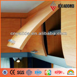 Wand-Schrank-Holz-und Bauholz-Körnung-zusammengesetztes Aluminiumpanel (AE-303)