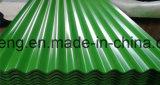 A telhadura ondulada revestida da cor de PPGI cobre CGCC