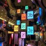 pantalla de visualización de interior a todo color de LED de la alta calidad de 7.62m m para la pared del vídeo del LED