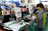 Одиночная головная машина вышивки компьютеризировала Sequin 12 игл + связывающ + машина Embrodiery квартиры + крышки + тенниски