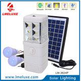 lâmpada solar do diodo emissor de luz de 3W Protable para a HOME