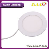Luz de painel redonda do diodo emissor de luz do excitador IP44 6W de Meanwell (SL-MB06)