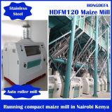 Máquina africana do moinho de farinha do milho de Tpd do mercado 100