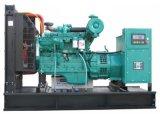 노랗거나 백색 또는 녹색 닫집 500kw 침묵하는 디젤 엔진 Genset