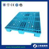 Pálete resistente do plástico da indústria de 1200*1000 Rackable