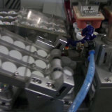 زجاجة زجاجة كاب التلقائي آلة الطباعة وسادة