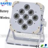 PARIDADE sem fio Uplight do diodo emissor de luz do casamento da bateria DMX de 9*15W 5in1 (SF-320)