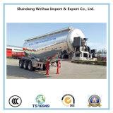 Remorque de camion-citerne de la colle en vrac d'alliage d'aluminium de 40cbm avec Fuwa 3 essieux