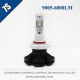 Lmusonu車7s 9005 LEDのヘッドライトの自動車照明25W 6000lm 9005 LED車ライト