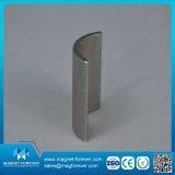 Permanent Ndfbe Neodymium Arc Motor Magnet Magnet