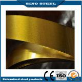 Dourado do Tinplate da impressão envernizado para a fatura da lata
