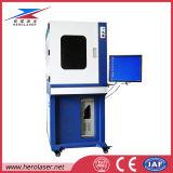 Машина 100W маркировки лазера волокна восточной системы маркировки автоматическая располагая глубокая