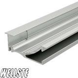 LED-Beleuchtung-Aluminiumstrangpresßling-Rahmen-Profil angepasst