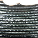 Canalização apertada líquida do metal flexível de aço inoxidável