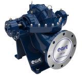 Einzelnes Stadiums-doppelte Absaugung-Wasser-Pumpe mit CER Bescheinigungen