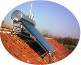 Sistema solar del calentador de agua del tubo de vacío del tejado