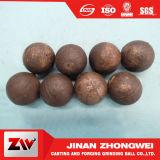 La vente chaude a modifié la bille de meulage en acier de medias pour le broyeur à boulets dans Shandong