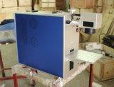 Logo/code marquant la mini imprimante laser de caisse de téléphone de gravure, machine d'inscription de laser de fibre de carte mémoire