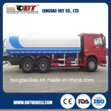 El tanque de agua del petrolero de Sinotruk HOWO 6X4