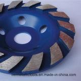 4 '' инструмента колеса чашки диаманта /105mm PCD меля для гранита
