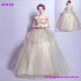 China-nach Maß Hochzeits-Kleid-niedriger Preisxiamen-Hochzeits-Kleid