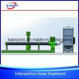 Schneidene Zeile Ausschnitt-Maschinen-Staub Removel Geräten-Dampf-Behandlung-Gerät