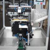 장식용 관 솔을%s 자동적인 둥근 회전하는 스크린 인쇄 기계