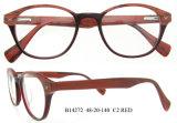 2016 bâtis optiques vendent la monture de lunettes ronde de mode de bâtis de monocle en verre
