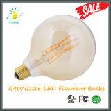 Iluminação decorativa das lâmpadas energy-saving da ampola G40/G125 do diodo emissor de luz