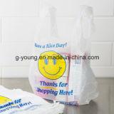 HDPE 100% Maagdelijke Materiële Transparante Zakken van de T-shirt