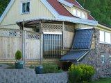 Capteur solaire pressurisé par fractionnement de caloduc (AKH)