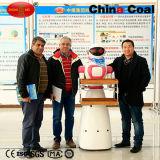 Кельнер робота поставки тарелок трактира дистанционного управления толковейший