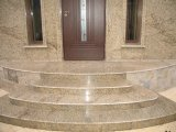 도매 Building Material Grey 또는 Red/White/Black Granite Circular/Spiral/Curved Staircase/Stairs