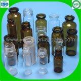 Fioles stériles en verre