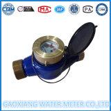Compteur d'eau à impulsion en poulie Multi Jet Brass avec connexion filaire