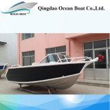 4.5m Runabout-Aluminium-geöffnetes Boot für Familien-Fischen