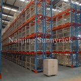 Racking de aço seletivo resistente do armazenamento do armazém