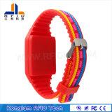 Wristband del silicone personalizzato Tk4100 RFID