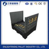Zusammenklappbarer Plastikladeplatten-Hochleistungsbehälter mit Kappe