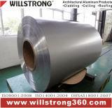 Катушка цвета покрытия PVDF алюминиевая в металлическом цвете