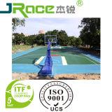 Guter Kissen-Leistungs-Basketballplatz-Bodenbelag-materielle Sport-Oberfläche