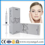 Reyoungel Hyaluronate Acid Dermal Filler Injection para dar forma ao contorno facial perfeito