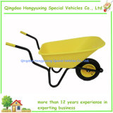 Wheelbarrow plástico do Polypropylene de 110 litros para o rancho do agregado familiar